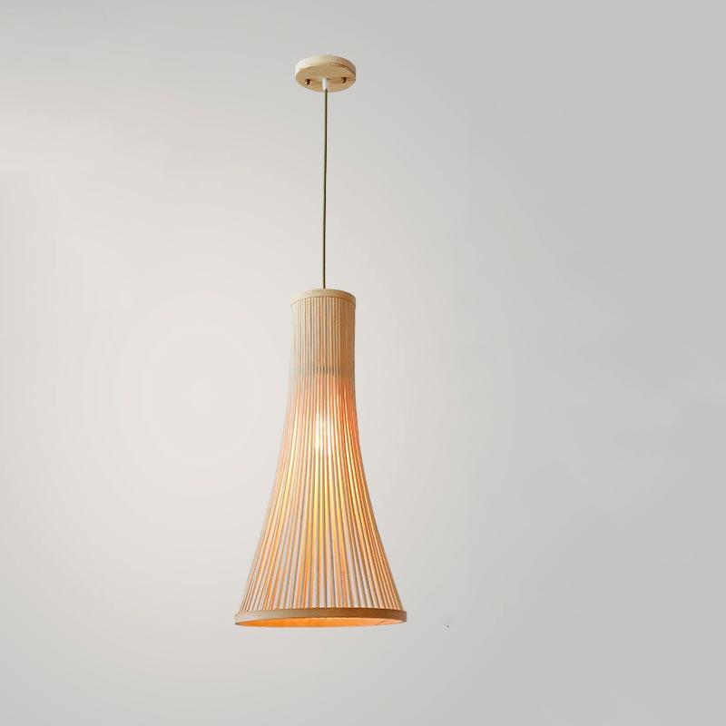 Đèn thả bằng gỗ
