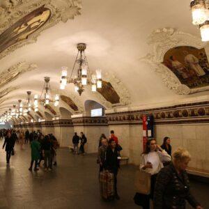 Khám phá Ga tàu điện ngầm Moskva, Nga