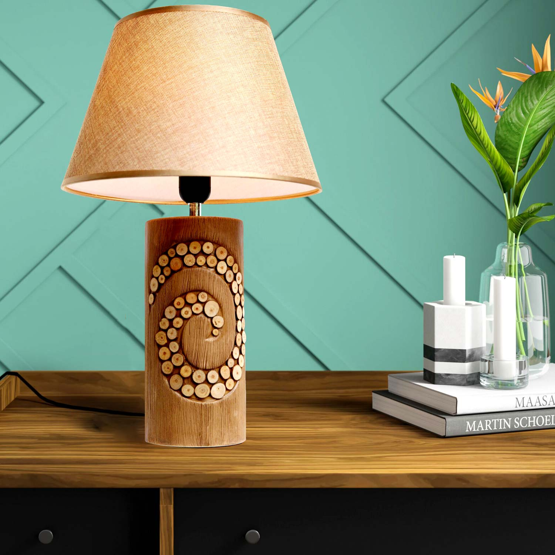 đèn bàn gốm trang trí