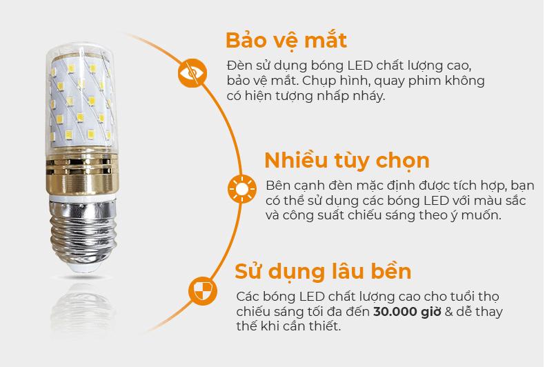bóng đèn led trang trí