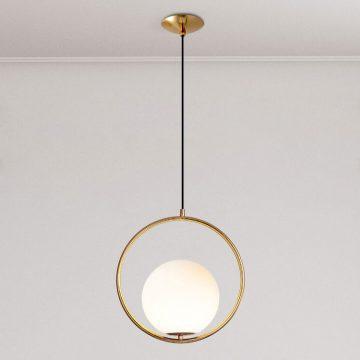 Đèn thả quả cầu thủy tinh Moonlight Venus DM800/1 trang trí bàn ăn đầu giường ngủ